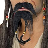 Set de pirate barbe Jack Sparrow barbe pirate fausse barbe