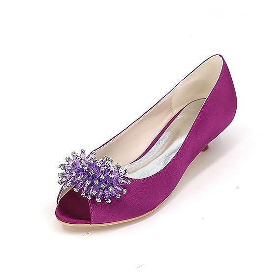De Boca Superficial Zapatos Grandes Tallas O Qingchunhuangtang AaqH86wW