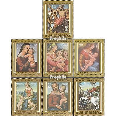 Guinée-bissau 682-688 (complète.Edition.) 1983 500. Anniversaire de raffael (Timbres pour les collectionneurs)