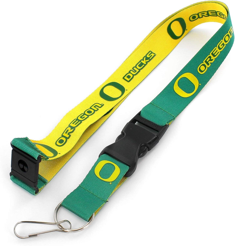 aminco NCAA Oregon Ducks Reversible Team Lanyard