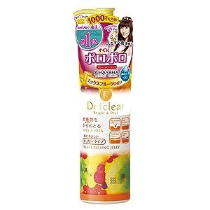 Meishoku Del Clear Bright and Peel Facial Peeling Gel, Mix Fruit, 180 mL