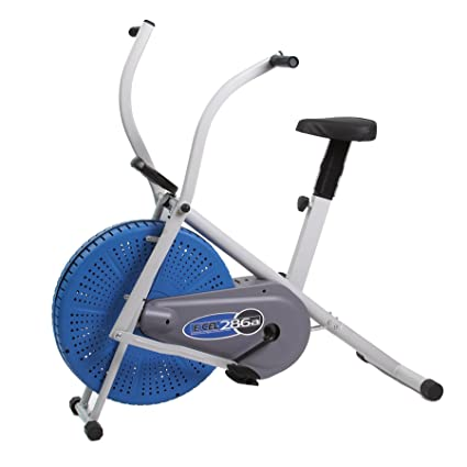 amazon com excel 286 dual action fan exercise bike sports outdoors