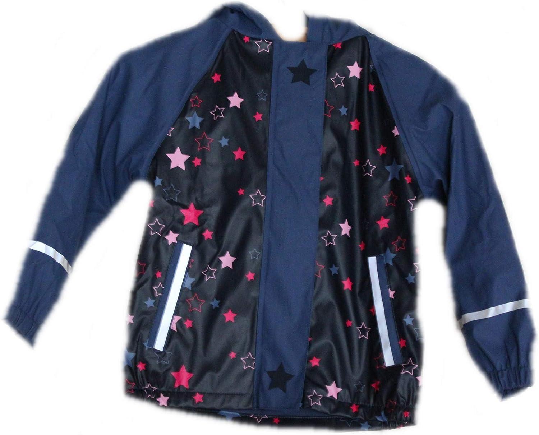 lupilu Girls Fleece Lined Mud and Bullet Jacket
