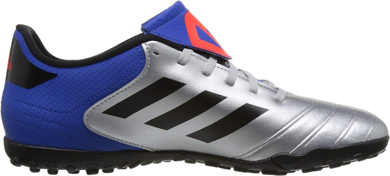 adidas Copa Tango 18.4 TF, Chaussures de Football Homme Argenté Silber Metallic Schwarz Silber Metallic Schwarz