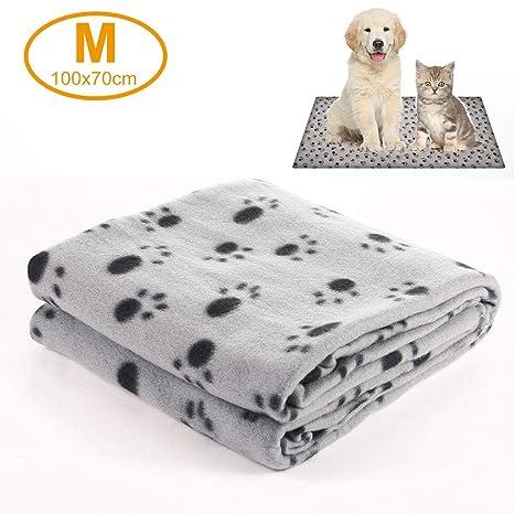 Hamkaw Manta cálida para Mascotas, para Perro, Gato, Manta ...