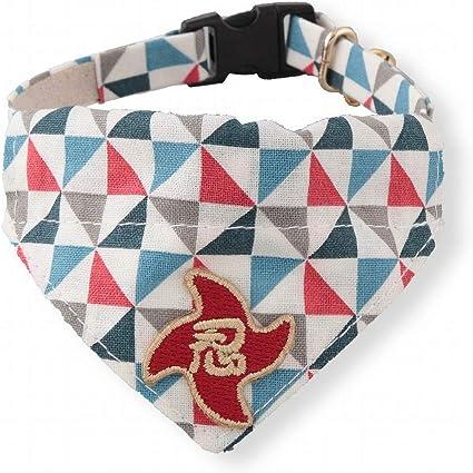 Pet Supplies : Necoichi Ninja Cat Bandana Collar (Blue ...
