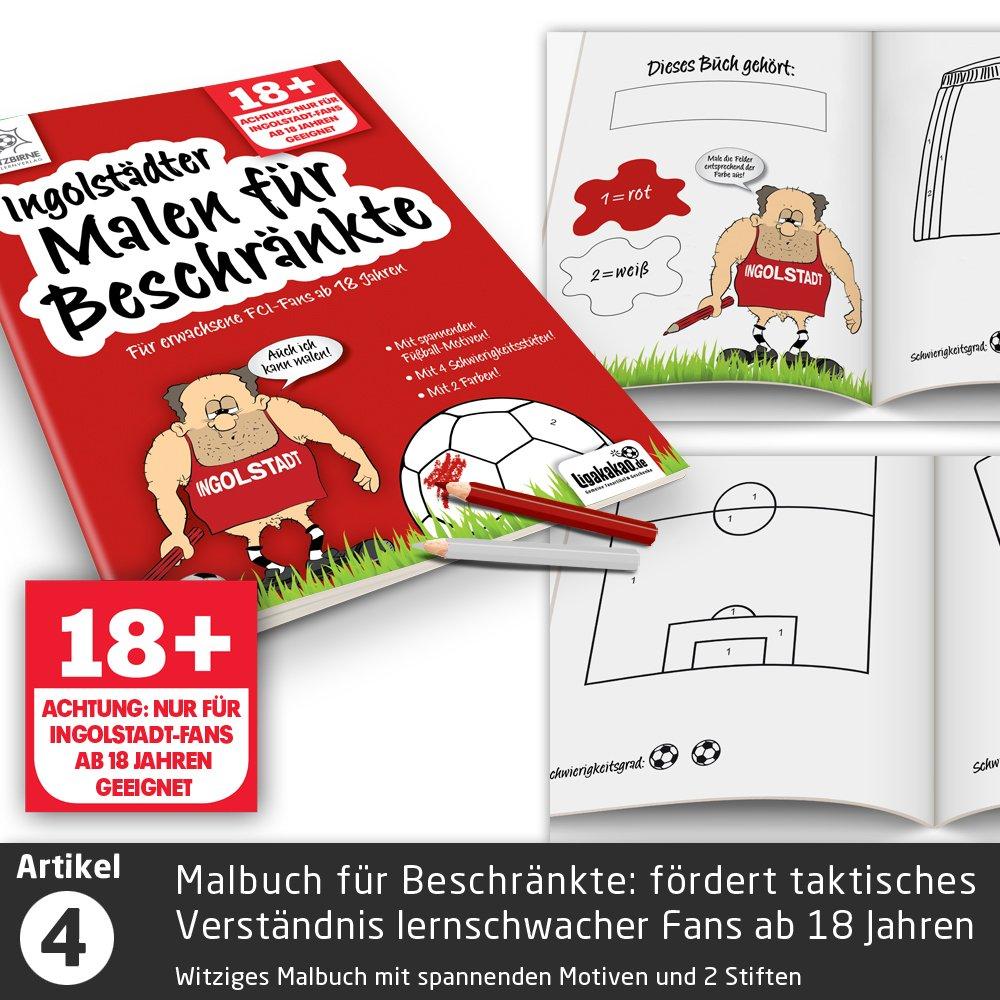 """Lakritz-Schmerztabletten f/ür FCI-Fans mit chronischen Vereinsdepressionen Vereinswechsel-Therapie f/ür Ingolstadt-Fans W/ähle gemein witzige Geschenk-Sets /über /""""Farbe/"""""""