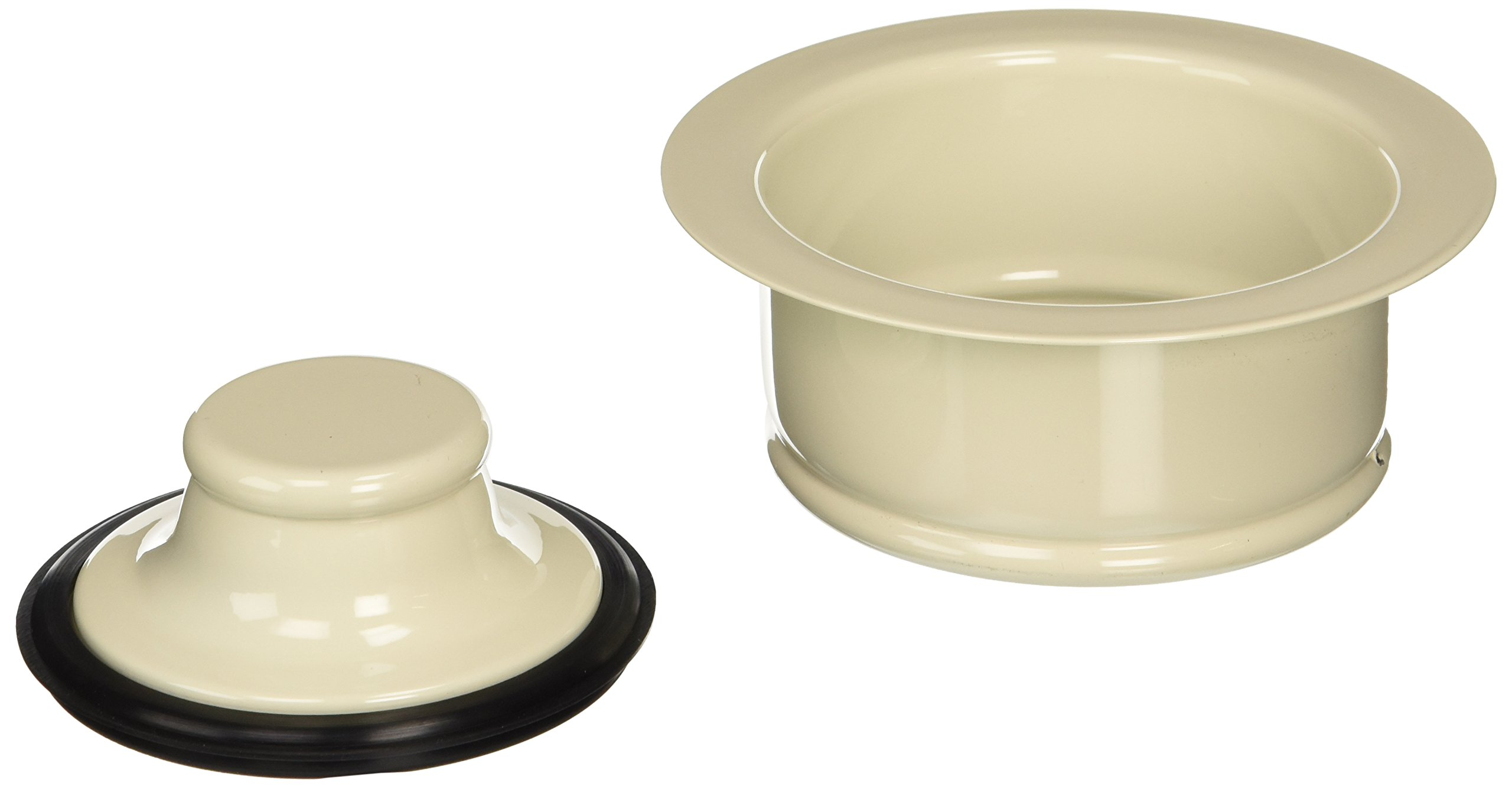 Keeney K5417BSQ Garbage Disposal Flange and Stopper, Bisque