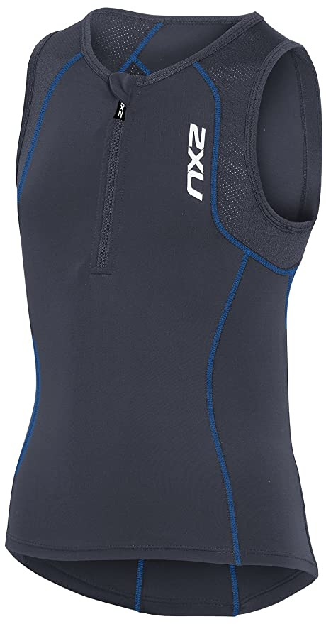 3597d842b Amazon.com  2XU Youth Active Youth Tri Singlet  Sports   Outdoors
