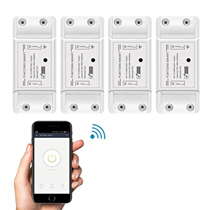 WiFi Smart Switch with Amazon Alexa and Google Home Voice Control