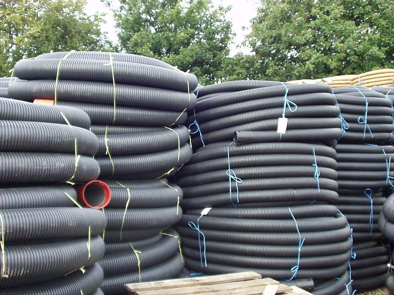 PBSL Group 160mm Perforated Land Drain 50M Coil