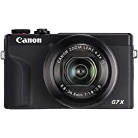 Canon Powershot G7X Mark III Digital Camera, Black