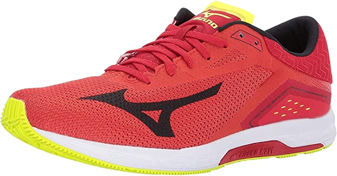 Yellow Details about  /Mizuno Wave Sonic Mens Running Shoes