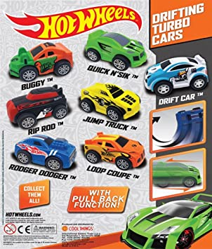 Drifting Turbo Cars In A Capsule Pack Of 10 Pullback And Zoom
