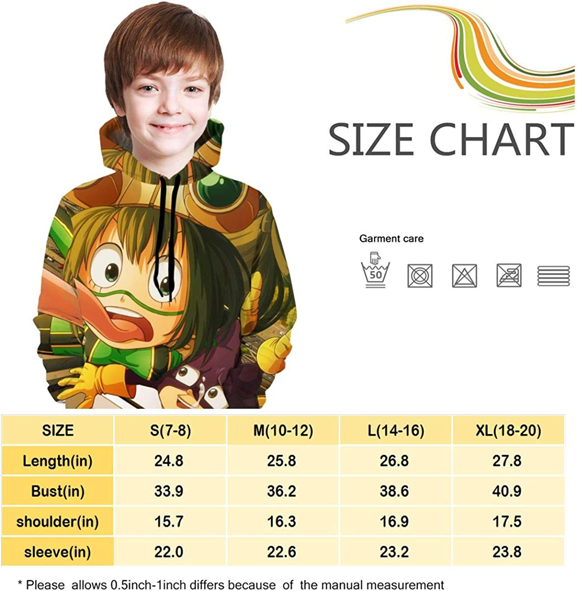 Teen Hooded Hoodies Others Japanese Cartoon Vocaloid Hatsune Miku Music Boys and Girls Hoodie