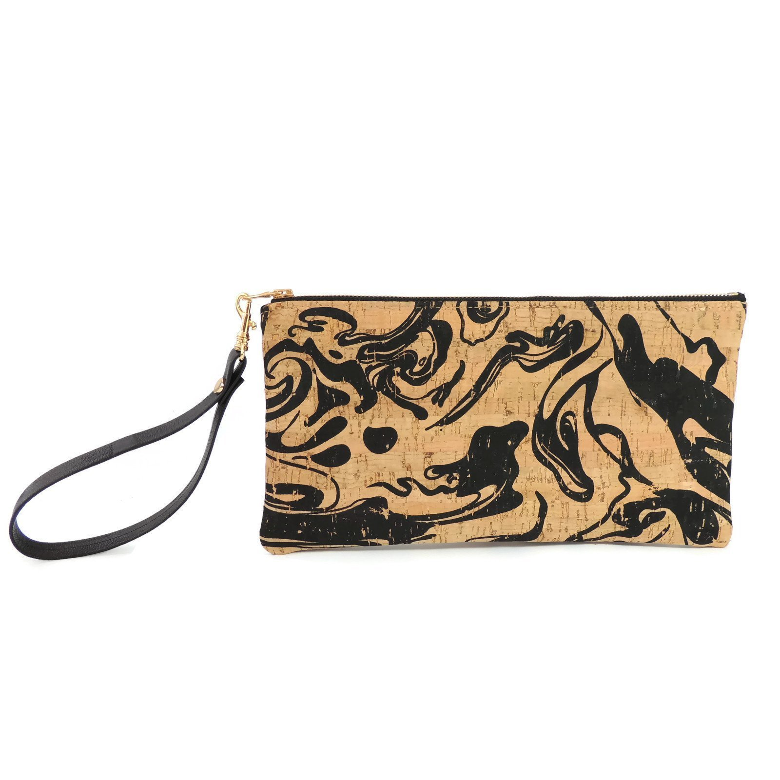 Marbled Cork Evening Clutch by Spicer Bags