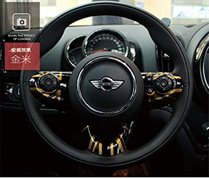 Lvbao Steering Wheel Trim Cover Cap Abs For Mini Cooper Onesjcw