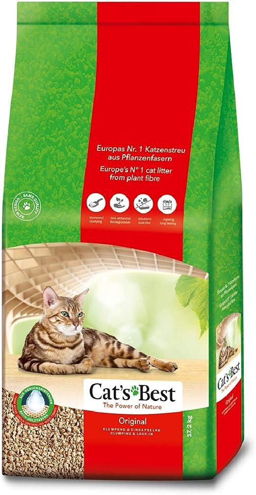 CatS Best Oko Plus Lecho para Gatos: Amazon.es: Productos para mascotas