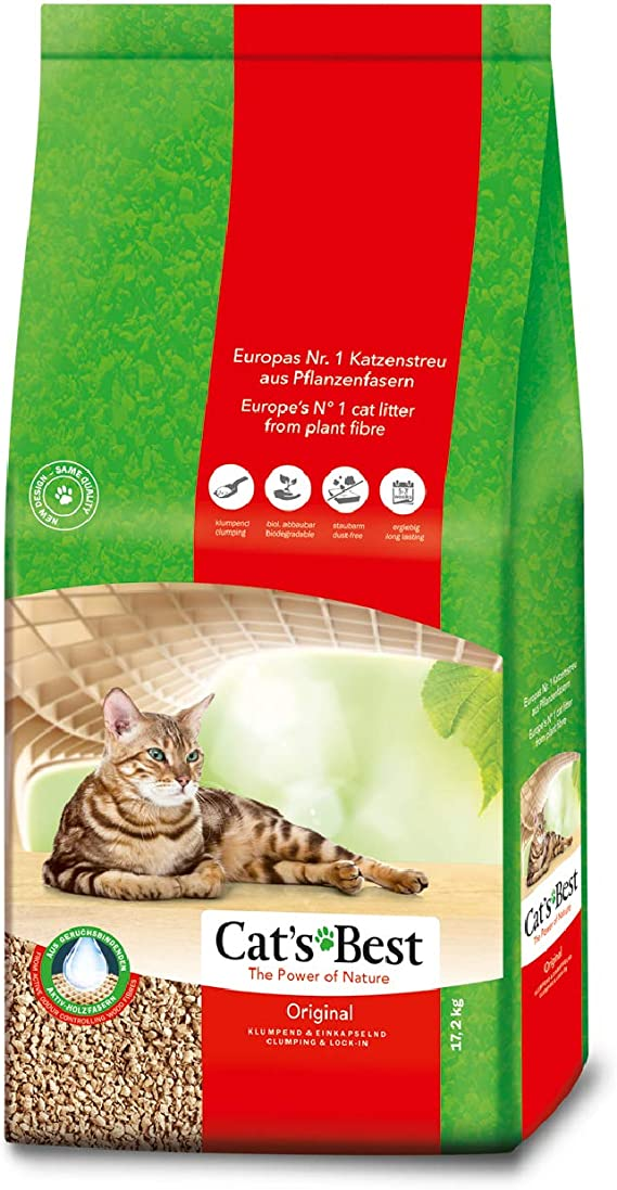 Cat S Best Original Katzenstreu 40 Liter Amazon De Haustier