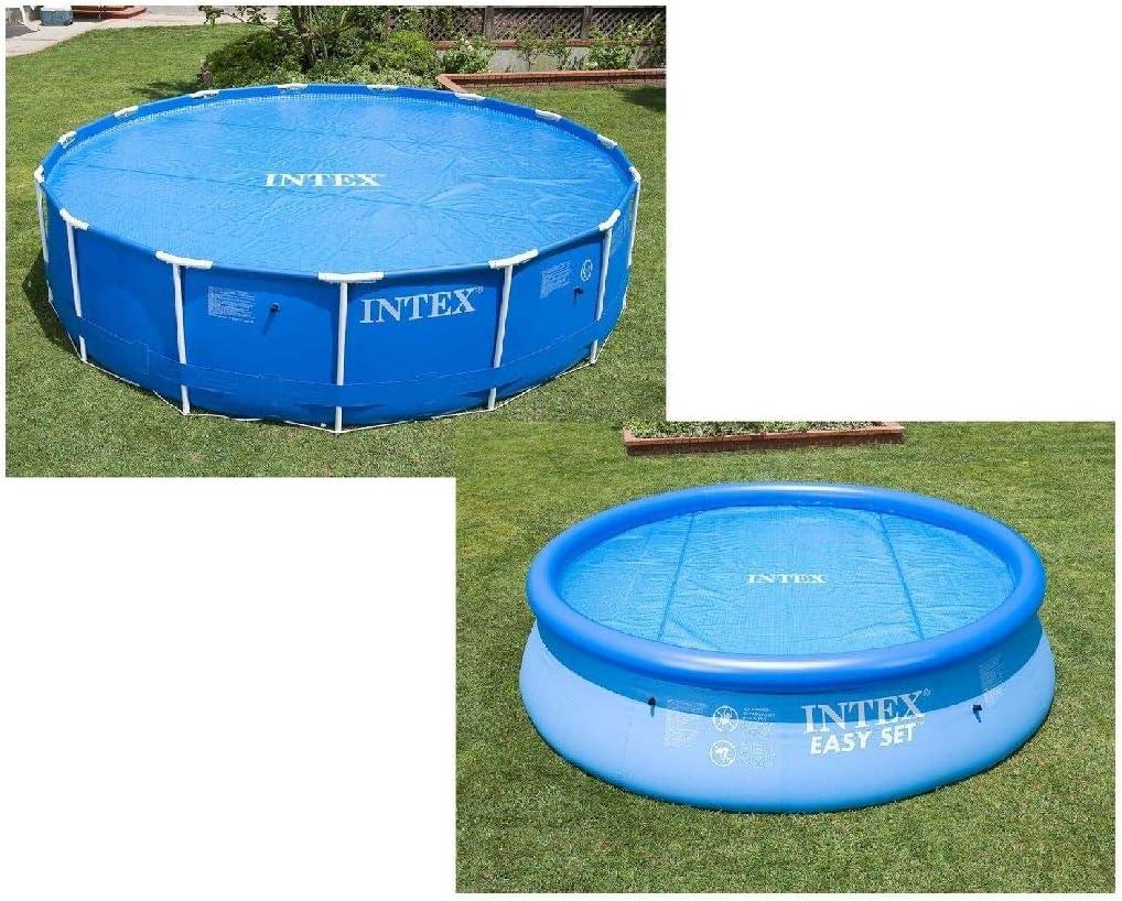 Intex 29020 - Cobertor solar para piscinas 244 cm de diámetro: Amazon.es: Jardín