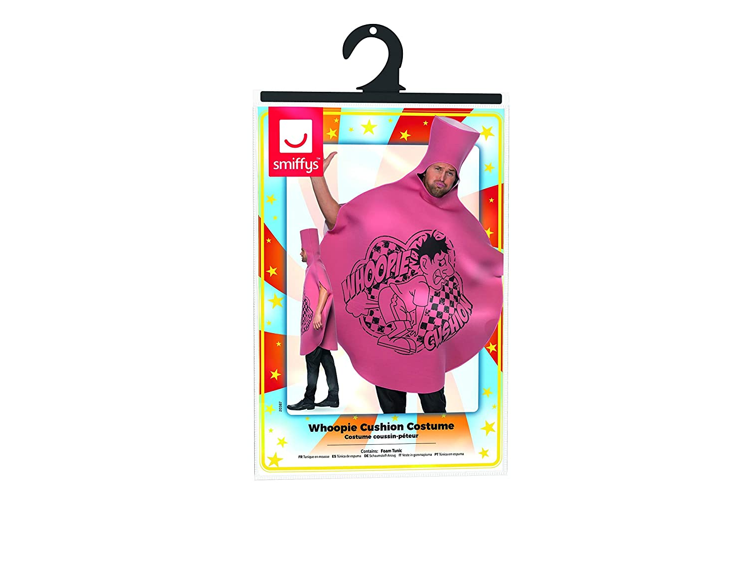 Amazon.com: Smiffy s de los hombres Whoopie Cushion traje ...