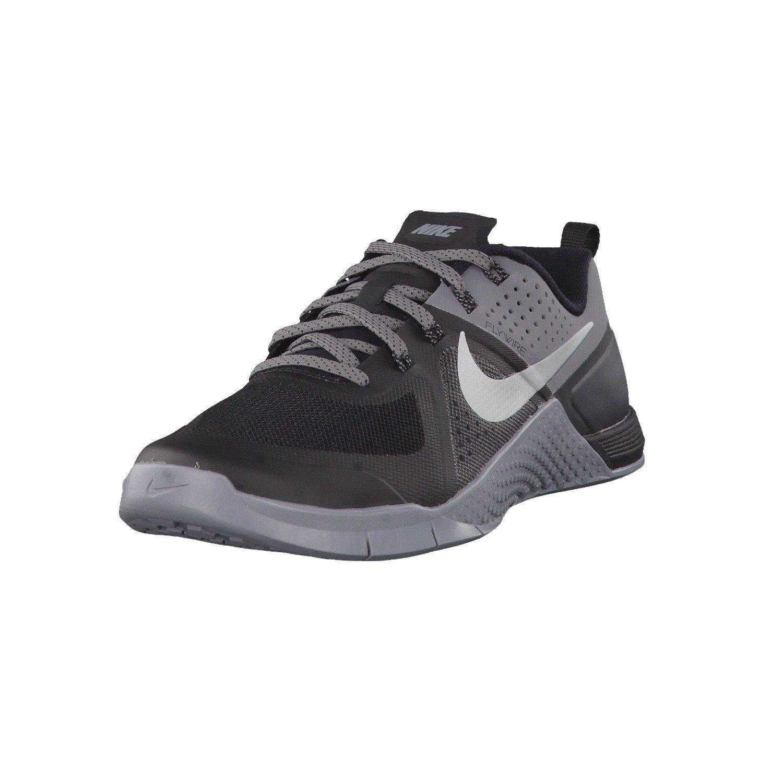 Nike Metcon 3 Mens Training Shoes B00Q6VJXCS 8.5 D(M) US BLACK/METALLIC SILVER-CL GREY