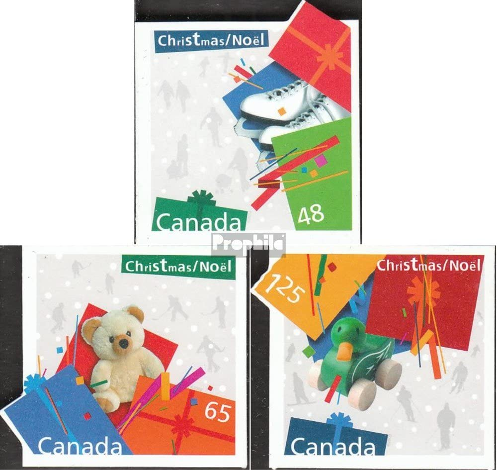 2003 Natale Natale Francobolli per i Collezionisti Completa Edizione Prophila Collection Canada Michel.-No..: 2156-2158