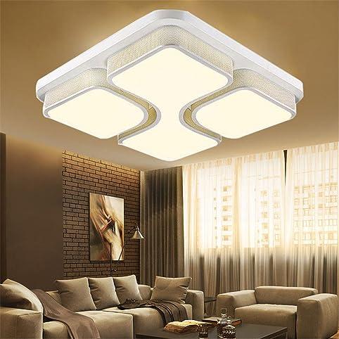 mctech® moderna plafoniera 48w pannello luminoso di soffitto del ... - Soggiorno Luminoso