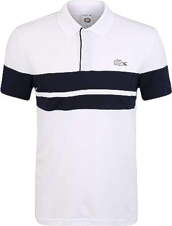 Lacoste Polo Sport French Open Edition Blanco 4 Blanco: Amazon.es ...
