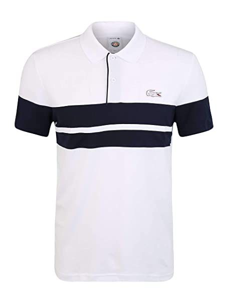 Lacoste Polo Sport French Open Edition Blanco 4 Blanco: Amazon.es ...