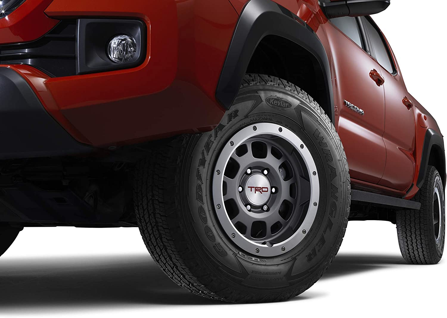 Amazon Com Trd Tacoma 4runner Fj Cruiser 16 In Off Road Beadlock Style Alloy Wheel Graphite 1 Automotive