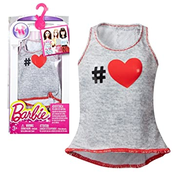 Barbie - Tendencia de la Moda para la Ropa de la Muñeca Barbie - Camisa Larga