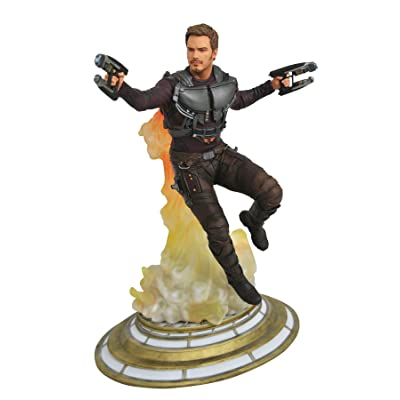 DIAMOND SELECT TOYS Marvel: Guardians of The Galaxy Vol. 2: Starlord Unmasked PVC Gallery Figure: Toys & Games