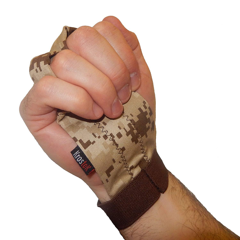 Par de calleras Hand Strips 5.0 para Crossfit Camuflaje marrón (S) - Diseño 3D: Amazon.es: Deportes y aire libre