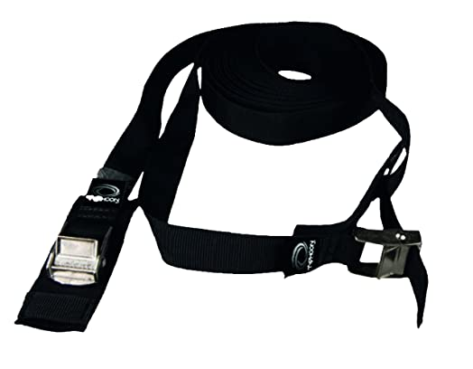 PAIR Of 3M Car Roof Rack Straps. HIGH QUALITY Webbing 3 Metres Long With  Protective