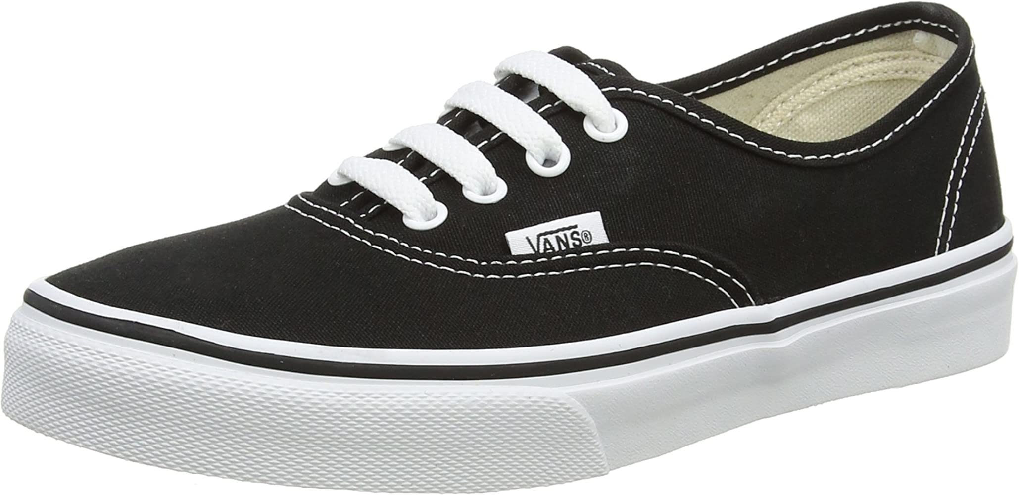 Vans Kids Black \u0026 True White