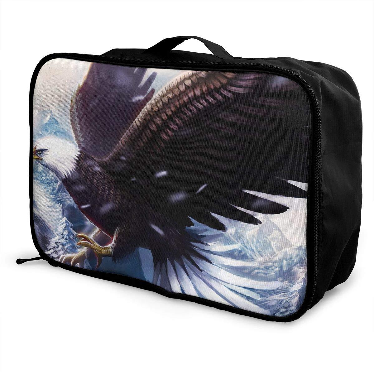 Travel Luggage Duffle Bag Lightweight Portable Handbag Eagle Large Capacity Waterproof Foldable Storage Tote
