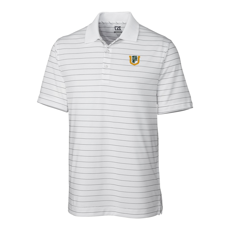 NCAA Mens CB Dry Tec Franklin Stripe Polo