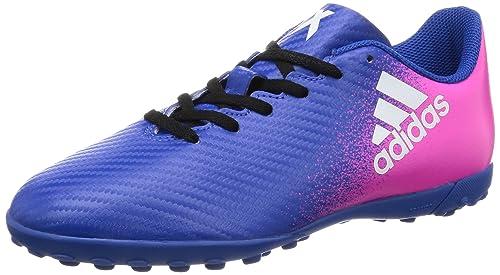 d731630deba5 Adidas Kids Soccer Shoes X 16.4 Turf Junior Football Futsal Boots BB5725  New (EU 28