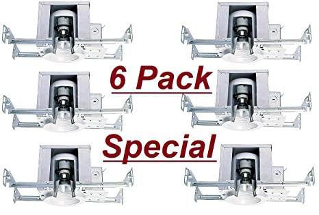 Cost Less Lighting 6 Pack - 4 Inch Ceiling Recessed Mini Down Can Light for New  sc 1 st  Amazon.com & Cost Less Lighting 6 Pack - 4 Inch Ceiling Recessed Mini Down Can ... azcodes.com
