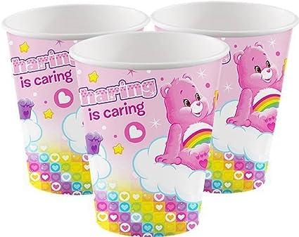 Amazon.com: Vasos de cumpleaños para niñas, decoraciones de ...