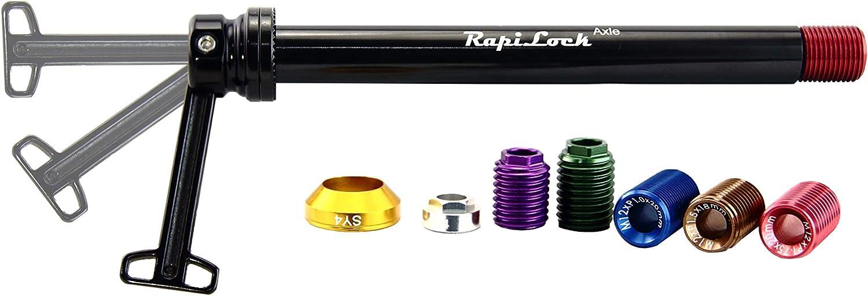RapiLock Axle w// Hidden Lever Fits Shimano// Sram// Syntace// DTSwiss System