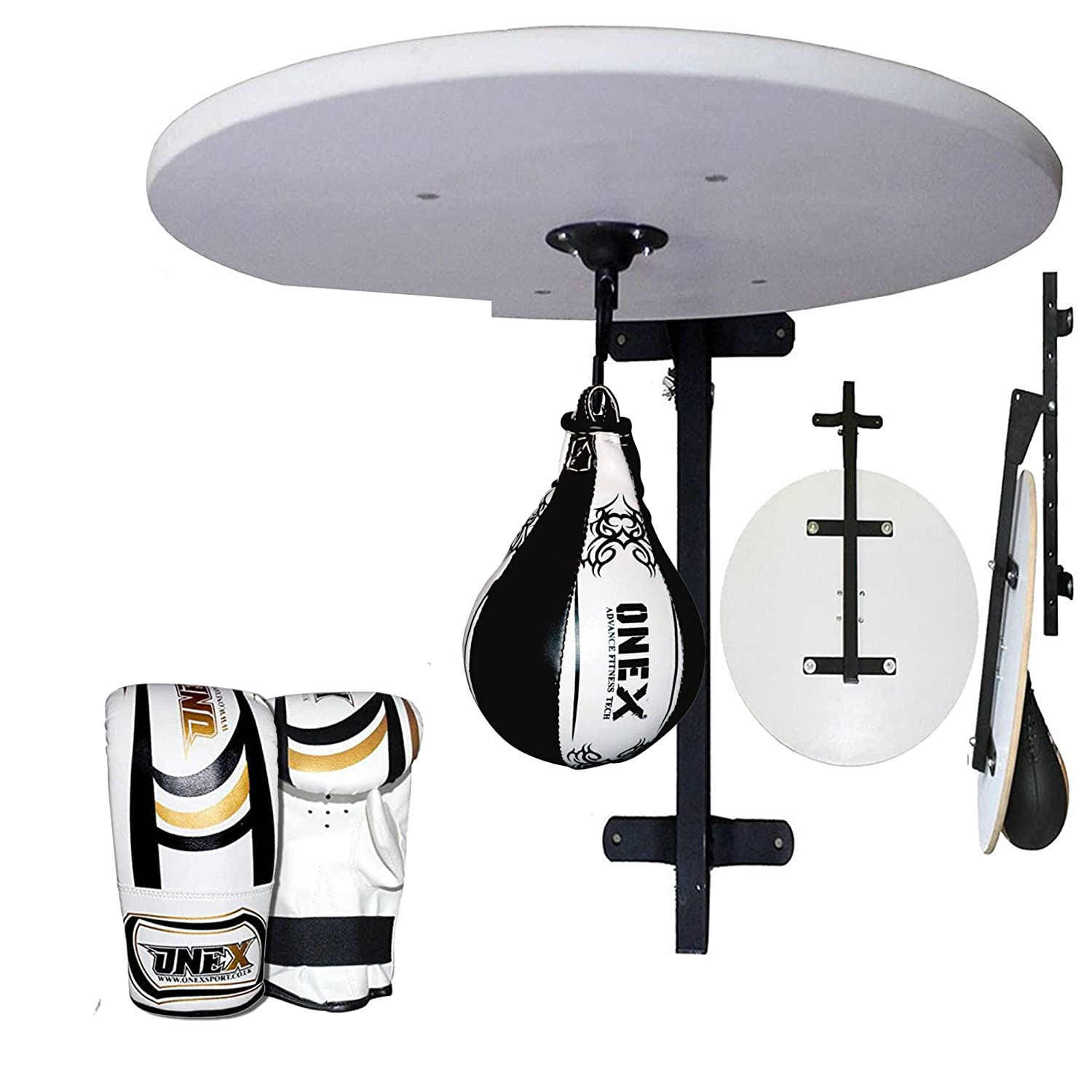 TurnerMAX Speed ball Platform Set Boxing Speed bag Training Gym Exercise