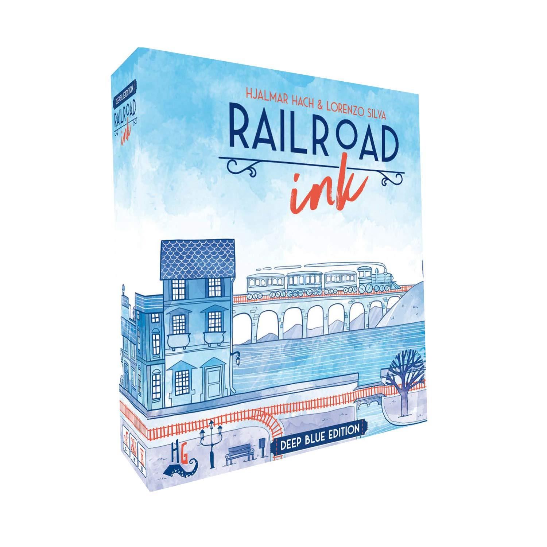鉄道用インク: ブルーゲーム。 B07GPZYS61