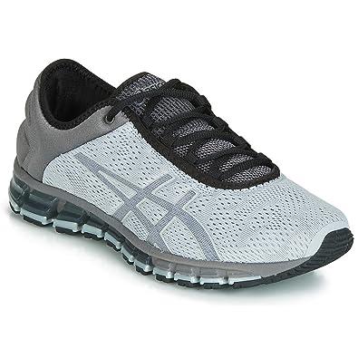 online store 32d8c e9cb7 ASICS Men s Gel-Quantum 180 3 Mid Grey Black Running Shoes-10 UK
