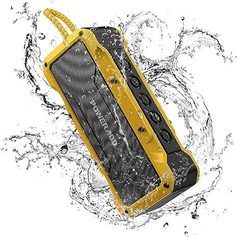 20W 4000mAh Drahtlos Tragbar Bluetooth Lautsprecher MP3 Soundbox USB TF AUX FM