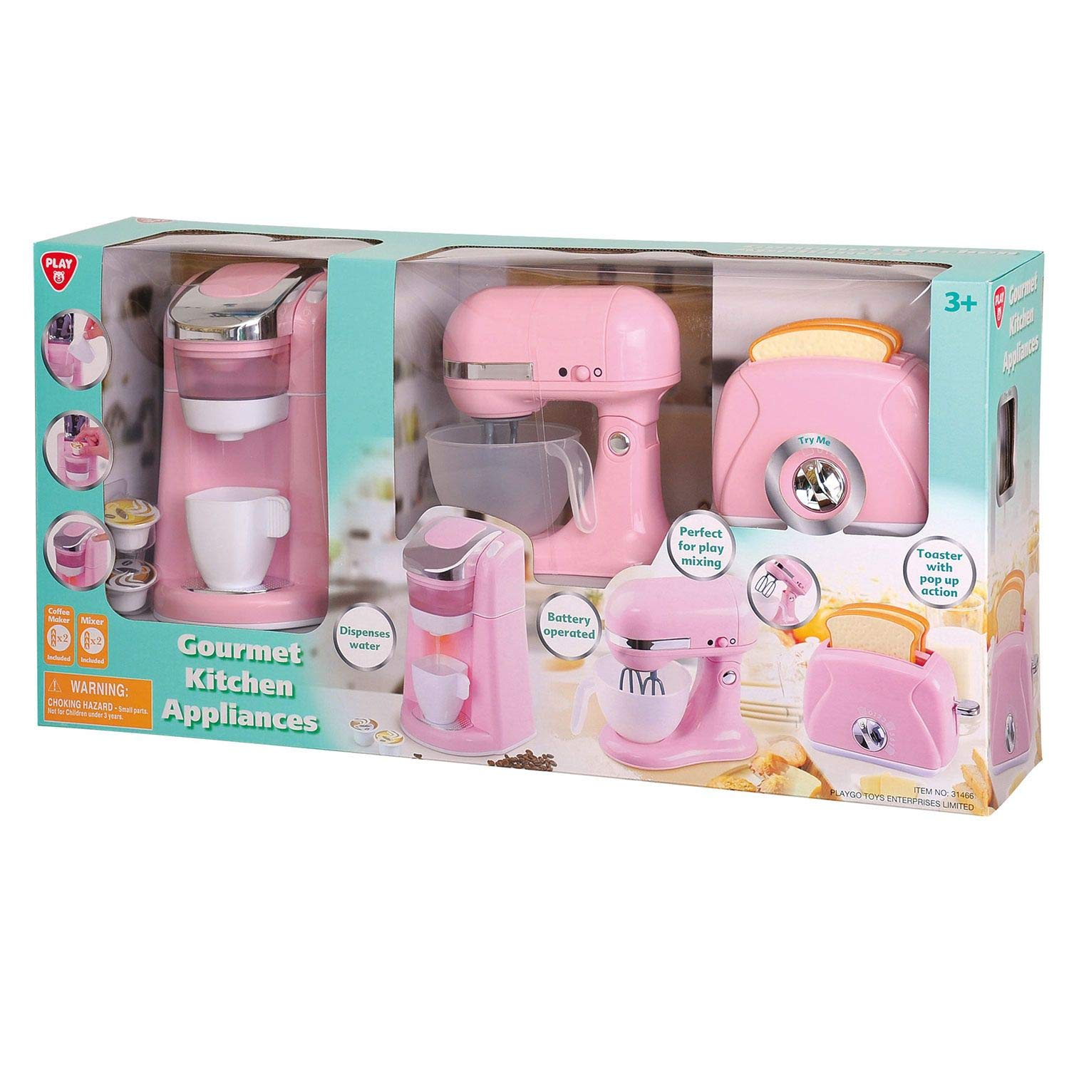 Gourmet Kitchen Appliances - Pink by PlayGo