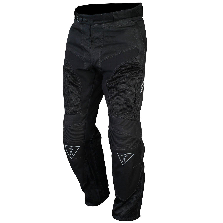 3XL Racer 12203 Cool 2 Pants, color Black, Size L