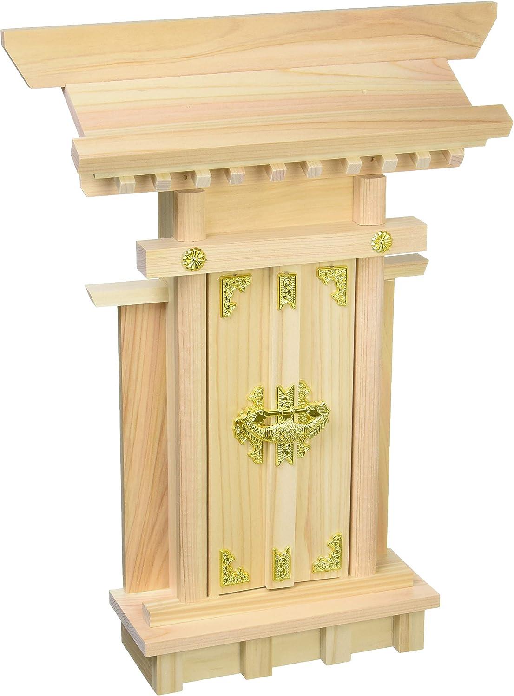 Miniature Kamidana Golden Ornament Ver. Japanese Shinto Shrine God Shelf 023