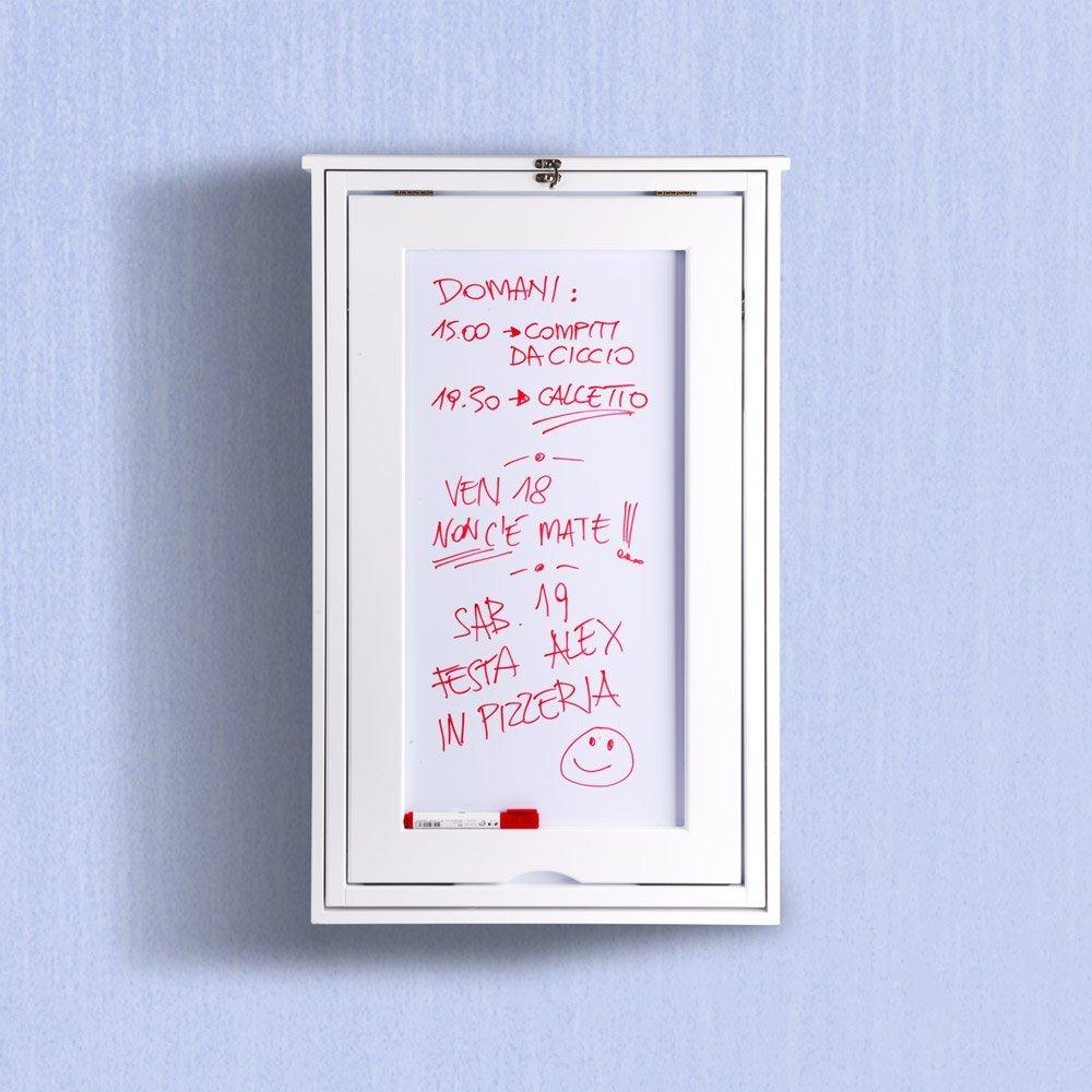 Scrivania da parete richiudibile: Amazon.it: Casa e cucina